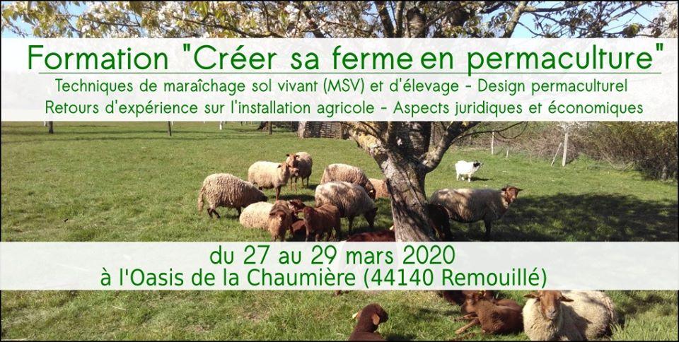formation creer sa ferme en permaculture